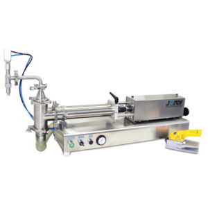 Dosificador de mesa con pistón para líquidos - 100 ml - Baja viscosidad - Modelo FP-100