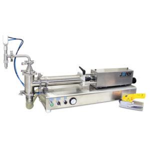 Dosificador de mesa con pistón para líquidos - 1000 ml - Baja viscosidad - Modelo FP-1000