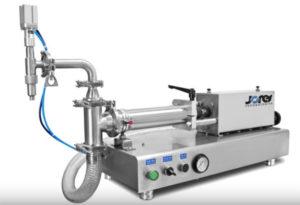 Dosificador de mesa con pistón para líquidos - 250 ml - Baja viscosidad - Modelo FP-250