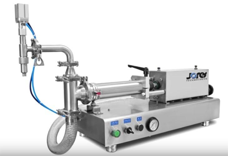 Dosificador de mesa con pistón para líquidos - 50 ml - Baja viscosidad - Modelo FP-50