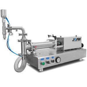 Dosificador de mesa con pistón para líquidos - 500 ml - Baja viscosidad - Modelo FP-500