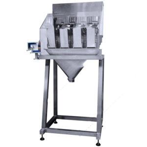 Dosificador por peso automático lineal de cuatro cabezales 5g - 1000g - Modelo - PARALLAX-424