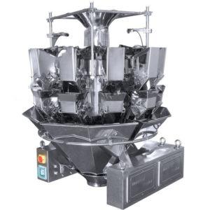 Dosificador por peso de combinación radial de 14 cabezales - 10g a 3000g - Modelo - PARALLAX-1413
