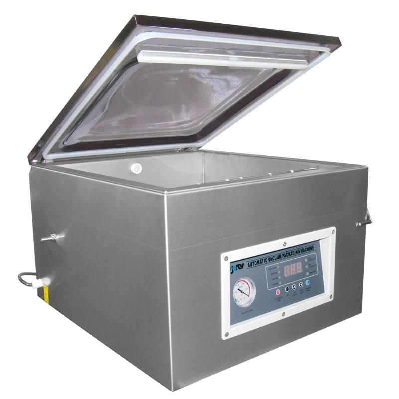 Empacadora de bolsas al vacío de cámara comercial con bomba rotativa de aceite - Descarga de gas - Modelo - VAC-457-T1