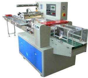 Empaquetadora de envoltura automática de flujo horizontal - 250 mm - Modelo - E-FW-250