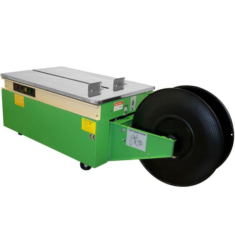 Flejadora de cajas de cartón semiautomática de bajo perfil - (Modelo - MST-201) por JORESTECH®