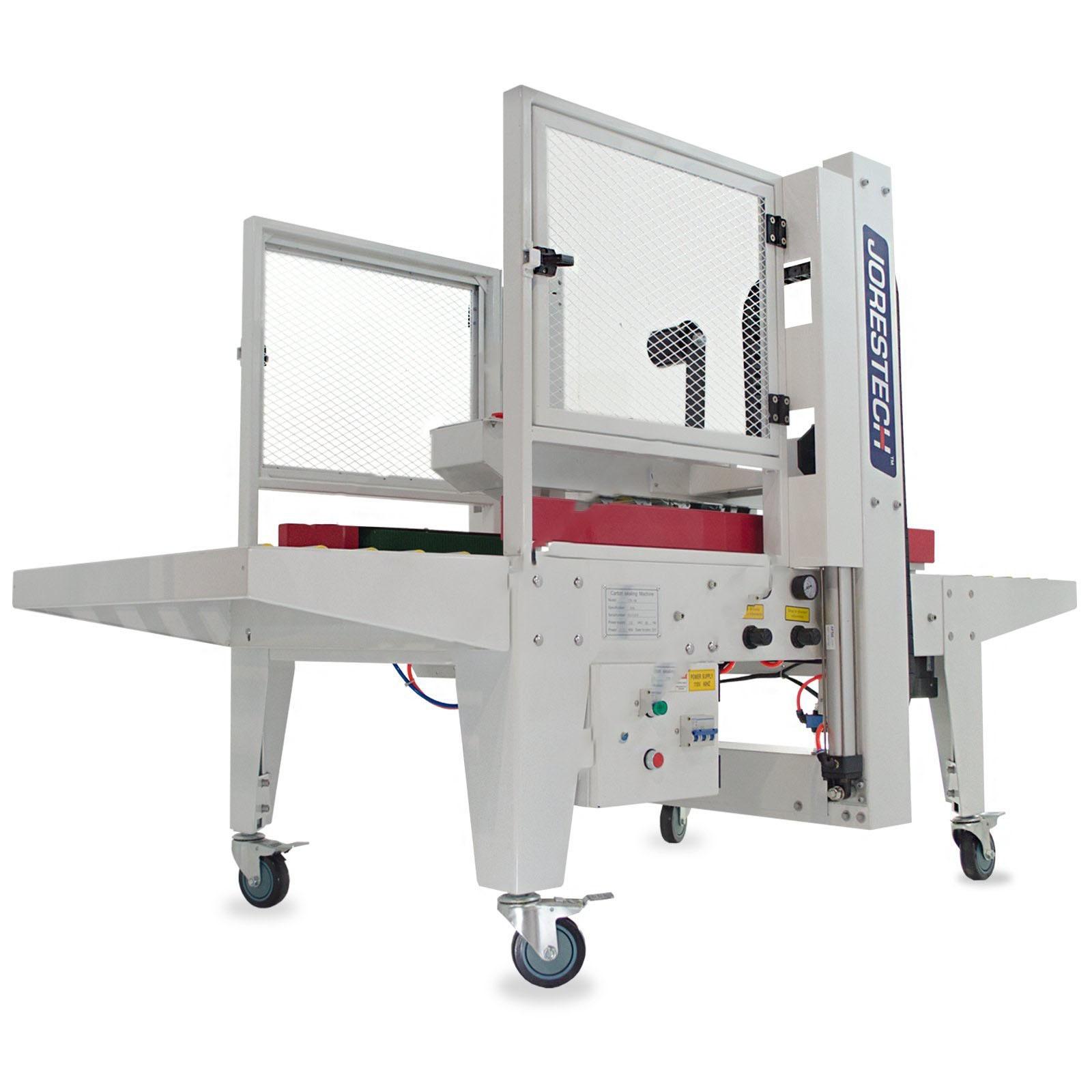 Máquina automática de cierre de cajas de cartón con tracción lateral - Modelo: CCN-108