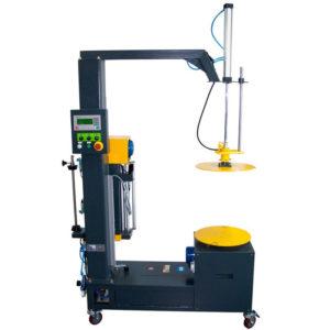 Máquina de envoltura elástica para cajas con plato giratorio - modelo STR-6000