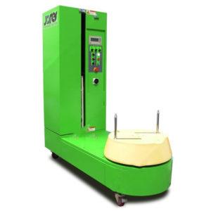 Máquina para envolver maletas/equipaje con placa giratoria - Modelo STR-5000-N
