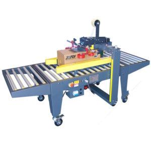 Máquina semiautomática para cerrar cajas de cartón con tracción lateral - Modelo: CCN-107