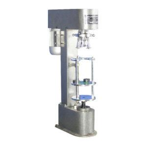 Máquina semiautomática para taponar botellas con tapa de plástico - Modelo - CAPPER-Plastic-CAP