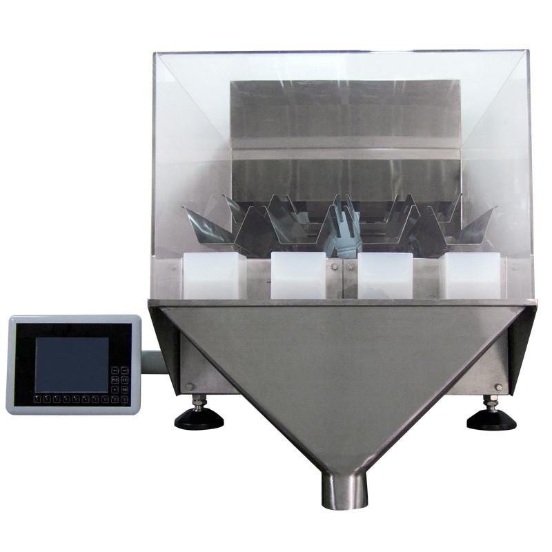Dosificador por peso lineal de cuatro cabezales de sobremesa 2g - 100g - Modelo: PARALLAX-403