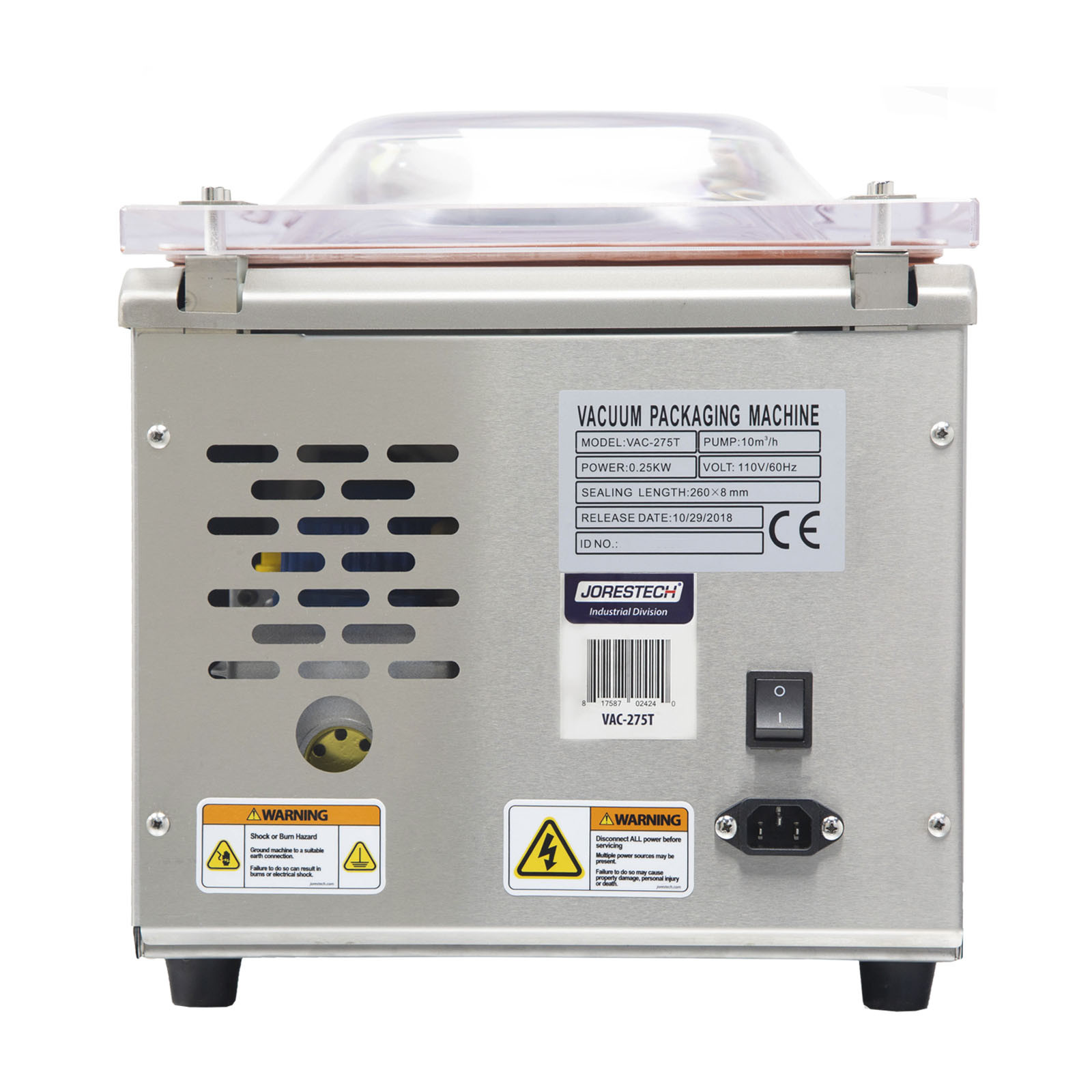 Empacadora Modelo – VAC-275