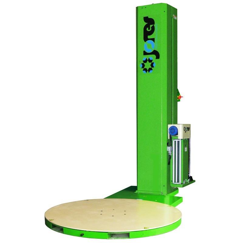 Envolvedora de Pallets con preestiramiento y plato giratorio - Modelo STR-1500-P