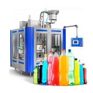 Llenadora automatica de líquidos gaseosos